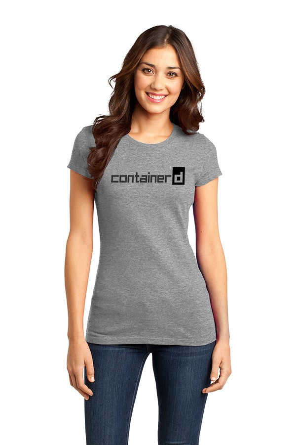 The Fitted containerd Short Sleeve Concert Tee