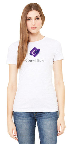 The Ladies CoreDNS Short Sleeve Concert Tee