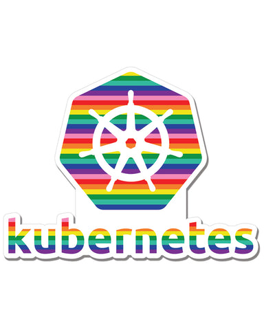 Kubernetes Pride Decal