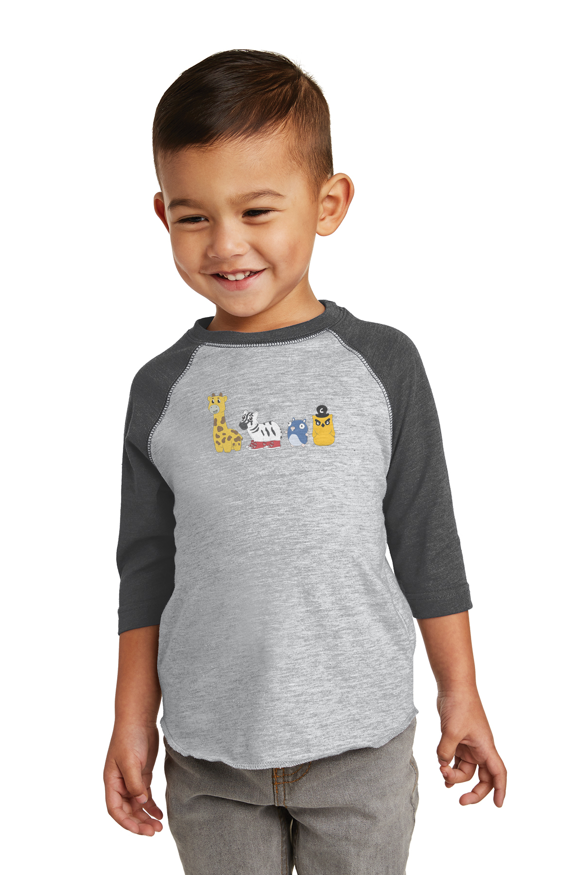 Phippy & Friends Toddler Baseball Tee