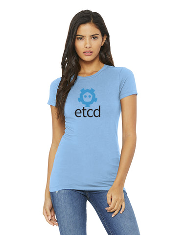 The Fitted etcd Short Sleeve Concert Tee