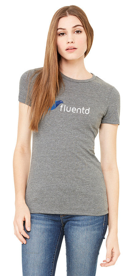 The Fitted fluentd Short Sleeve Concert Tee