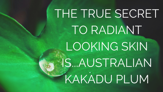 Did you know Kakadu plum helps your wrinkles??