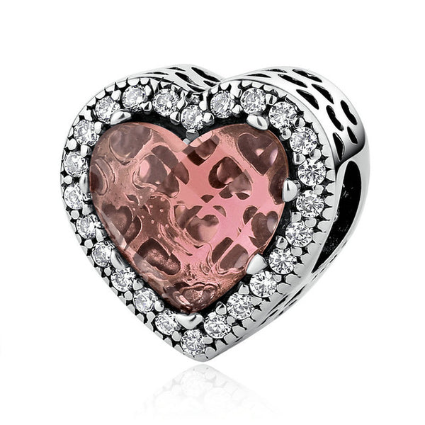 Radiant Hearts Bead