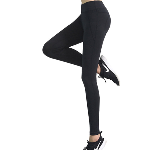 Women High Waist Tights Workout Sports Yoga Running Leggings Pants