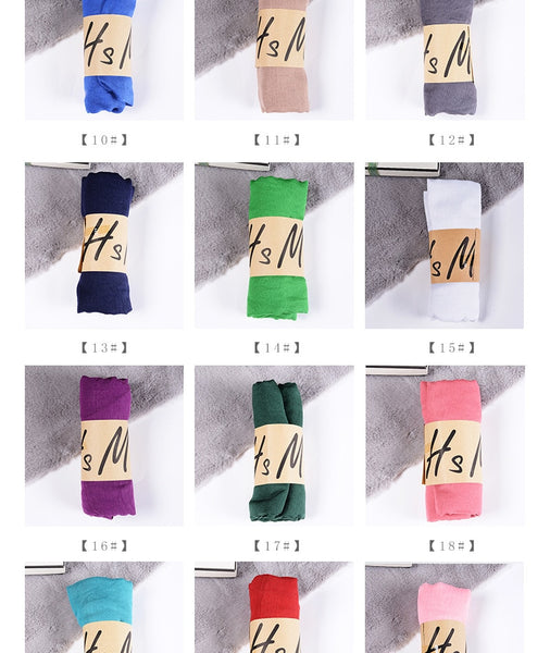 New Cotton Linen Scarf Collection