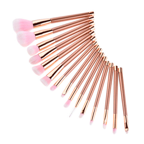Rose Glamour Brush Set
