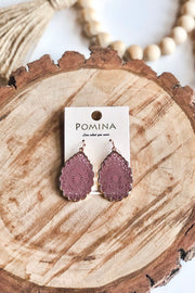Electric Love Earrings- Mauve