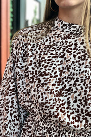 Hopeless Romantic Animal Print Dress