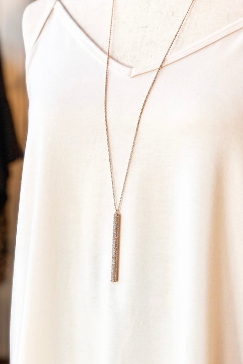 Cecilia Necklace- Gold