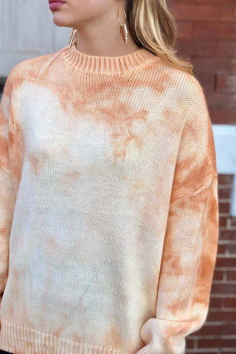 Wishful Thinking Tie-Dye Sweater