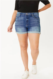KanCan Plus Size Denim Shorts