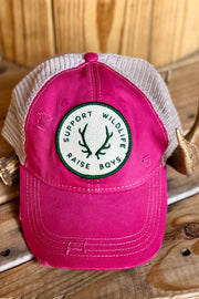 Judith March Trucker Hat-Raise Boys