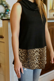 Perfect Layer Cowl Neck Tank