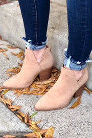 Follow Along Booties- Camel