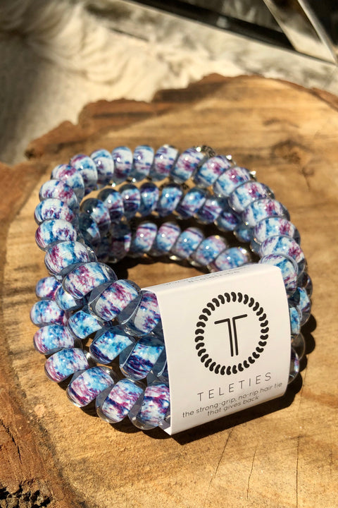 Teleties 3 Pack (Large) - Trippy Hippie