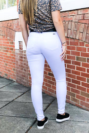 Kan Can Gemma White Skinny Jeans
