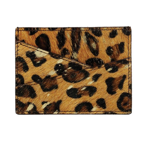 Myra Sauvage Leather & Hairon Credit Card Wallet