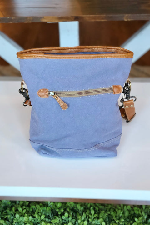 Myra Blue Mist Crossbody/Shoulder Bag