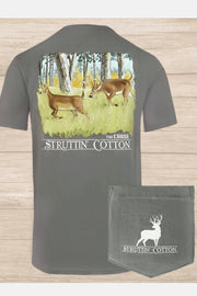 Struttin' Cotton The Chase Men's Tee- Short Sleeve