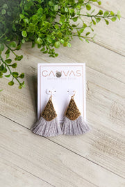 Malibu Earrings- Gray