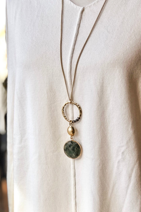 Something 'Bout You Stone Necklace