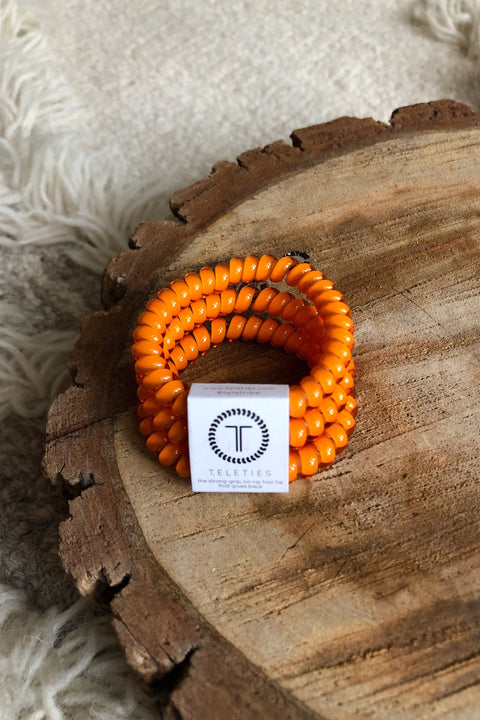 Teleties 3 Pack (Small) -Pumpkin Spice