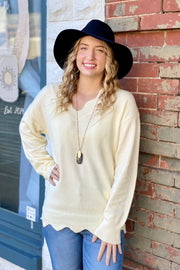 Lifetime Soft Knit Sweater - Cream