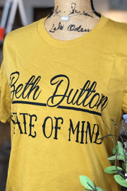 Yellowstone Beth Dutton Graphic Tee