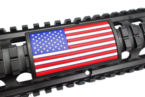 AMERICAN FLAG PVC RAIL COVER - RED, WHITE & BLUE