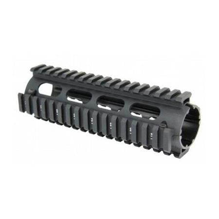 AR-15 DROP-IN QUAD RAIL - 7""