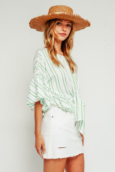 Montauk Embroidered Top