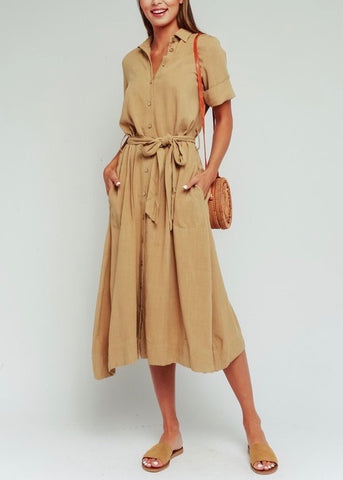 Sahara Button Up Dress