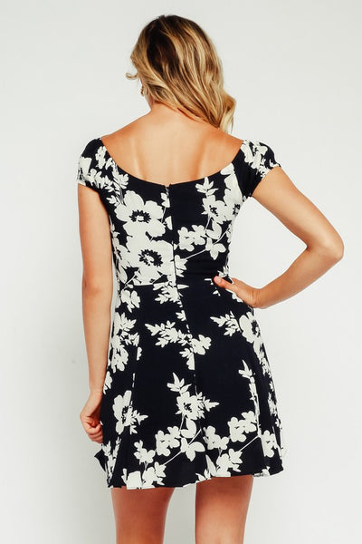 Corset Floral Dress