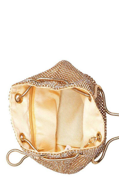 The Lucia Evening Bag - Gold