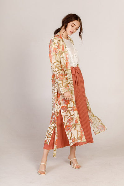 Sashay Floral Duster