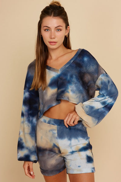 Woodstock Tie Dye Set - Denim