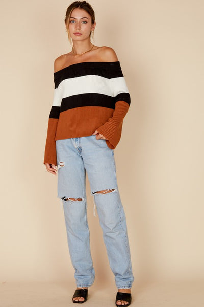 Sabrina Striped Sweater