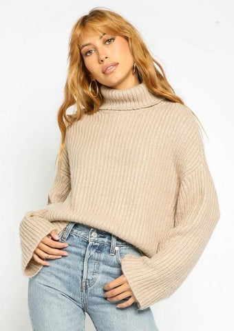 Oat Turtleneck Sweater