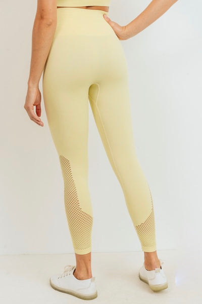 Perforated Leggings