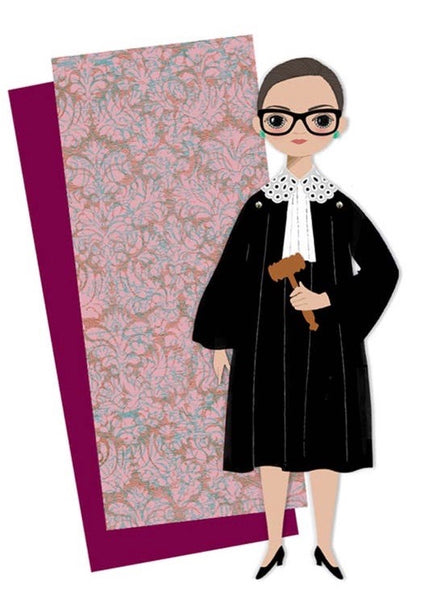 RBG Paper Doll Kit