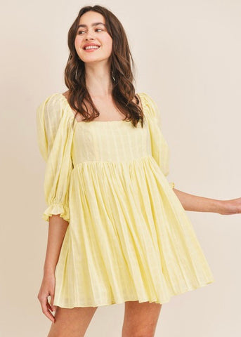 Sun Seeker Babydoll Dress