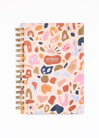 Abstract Paper Cuts Notebook