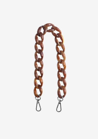 Chain Handle- Brown