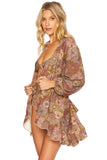 Lotus Wrap Dress