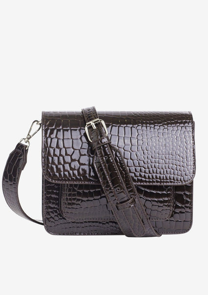 Cayman Pocket Bag - Dark Brown