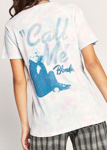 Blondie Call Me Weekend Tee