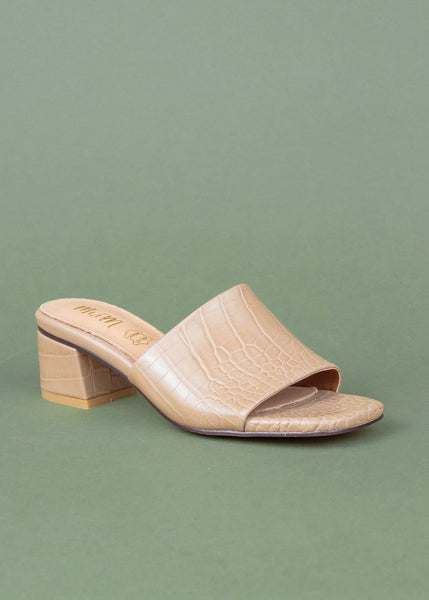 Candice Alligator Sandal