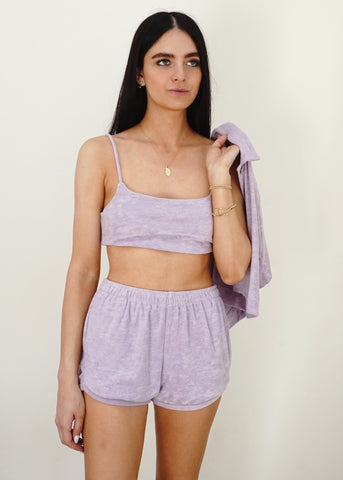 Terry Bralette - Lilac
