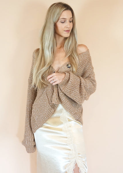Speckle Occasion Sweater
